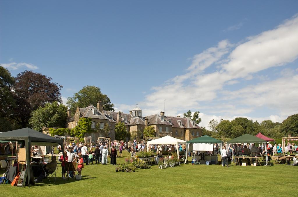 Le manoir de Slade et le festival medieval à Netherbury