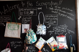 TLC Scrapstore outlet in Bridport, St Michael's Trading Estate, pick up a bargain ?