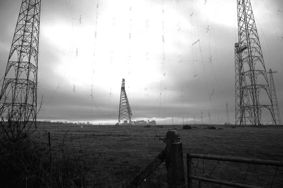 Rampisham mast coming down