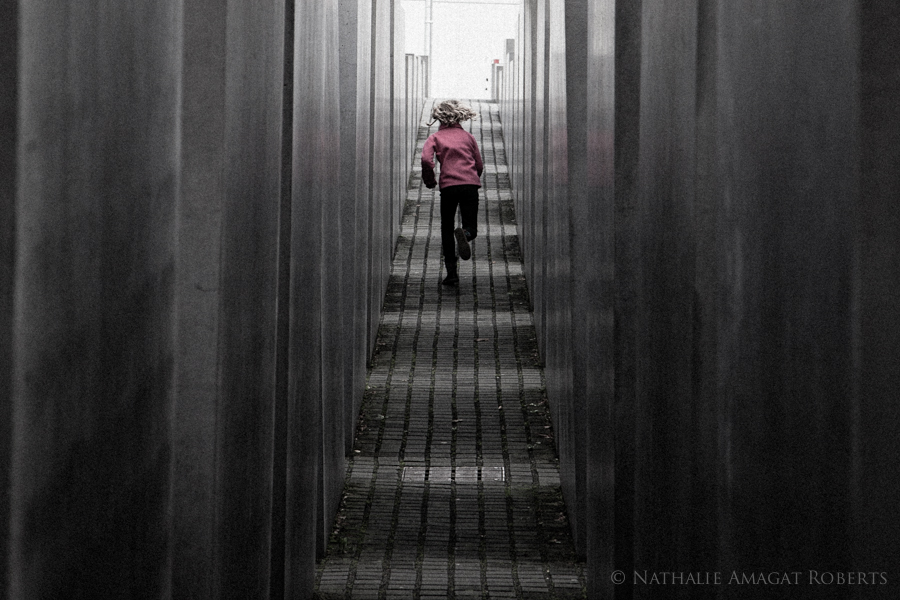 Jewish Memorial Berlin, children should always play